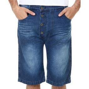 Bermuda Jeans Infantil Masculina 4 Botoes Tam 10,14 E16!nova