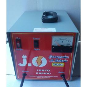 Carregador De Bateria Automotiva 50a/12v Bivolt 110/220