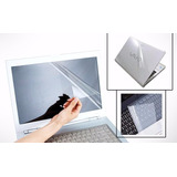 Kit Protector Pantalla Teclado Cubierta Laptop 14.1 Skin
