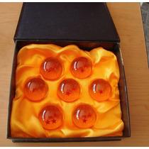 Esferas Del Dragón Set De 7 4.3cm Con Estuche Envio Gratis!!