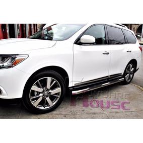 Nissan Pathfinder Estribos Cromados Importados 2013 A 2017