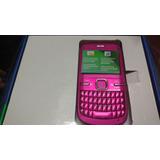 Nokia C3 Liberado Rosa $1299 Con Envío Nuevo..