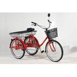 Triciclo De Carga Roller Rod 24 Tricargo Con Cambios 6 Vel