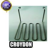 Resistência Elétrica Fritadeira Croydon 5000kw Inox 4 Voltas