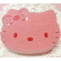 Zacate,esponja, Fibra, Etc.para Lavar Trastes De Hello Kitty