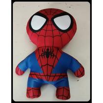 Muñecos Super Heroes - Hombre Araña (spiderman) 32cm Aprox