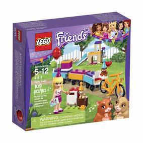 Lego Friends 41111 Set Tren De Fiesta Construccion Educando
