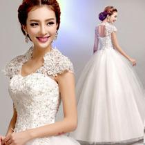Vestido De Noiva Bordado Princesa Pronta Entrega!!!