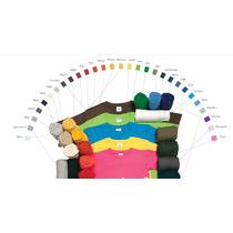Playera Lisa 100% Algodon Niño Yazbek. +18 Colores