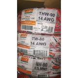 Cable Tw 14 Awg Colores X 100 M Indeco