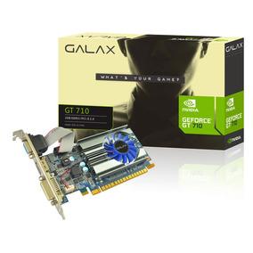 Placa De Vídeo Galax Geforce Gt 710 2gb Ddr3 64 Bits