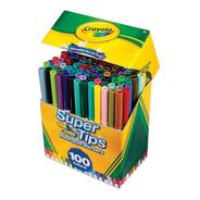 Marcadores Crayola Super Tips X 100