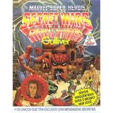 Hq Guerras Secretas Gulliver Super Heróis Marvel - Anos 80