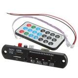 Módulo Mp3 Usb/sd/fm/aux (sin Bluetooth) Con Control Remoto