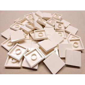 Piezas De Lego: Azulejos Blancos Liso Acabado Teja 2x2 2 X 2
