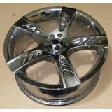 Rin 17 Aluminio Cromado 5-100 Y 5-114.3 Tengo Cuatro (7030)