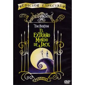 El Extraño Mundo De Jack Tim Burton Edicion Especial En Dvd