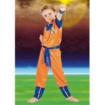 Disfraz Dragon Ball Z Goku Original Local Belgrano R