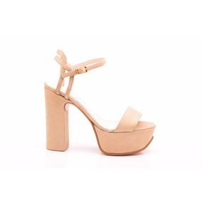 Natacha Zapato Mujer Sandalia Plataforma Dune Oro #1221