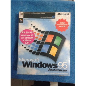 Windows 95 - Full - Original Em Disketes + Manuais
