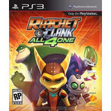 Ratchet & Clank All 4 One Ps3 Digital - Caja Vecina