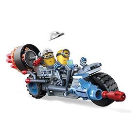 Kit De Mega Bloks Despreciable Me Motocicleta Mutilación De