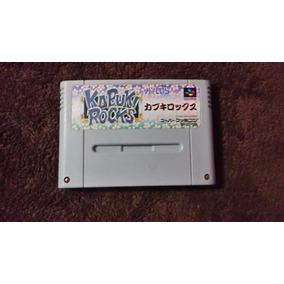 Kabuki Rocks Rpg Sfc Original Super Nintendo