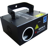 Laser Big Dipper Audioritmico Azul 120mw Dmx Sonido Efecto
