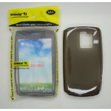 Capa Smarti Silicone Nokia Asha 205 N205 Preto Fumê