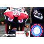 2 Faro Led Doble Ojo De Angel Demonio Lupa Moto Auto 3 Modos