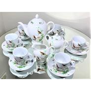 Jogo Para Chá 15 Peças Porcelana - Serve 6 Pessoas