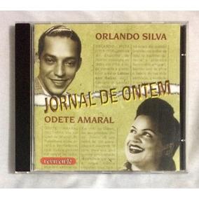 Cd Orlando Silva E Odete Amaral Jornal De Ontem (jbn)