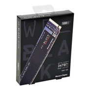 Disco Duro Ssd M.2 Nvme Western Digital Wd Black Sn750 500gb