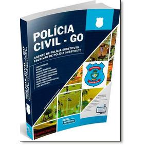 Polícia Civil: Goiás - Agente De Policia Substituto Escriv