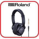 Fone De Ouvido Roland Rh-5 Teclado /mixagem / Dj- Garantia