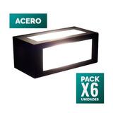 Pack X 6 Luces/difusor Bidireccional Para Jardin Exterior