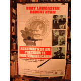 Asesinato De Un Presidente Norteamericano. Afiche Cine Orig.