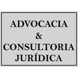 Placa Sinalização Advocacia E Consultoria Juridica