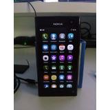 Nokia N9 Movistar + Fundas + Bateria Adic + Carcaza Liquido!