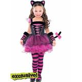 Vestido Fantasia Gatinha Monster High Criança Infantil