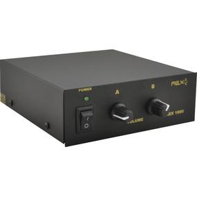 Amplificador De Mesa P/ Pc Notebook Som Ambiente Mp3 Ipod Nf