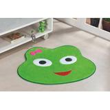 Tapete Infantil Em Formato Big De Sapinha 112x94cm Verde Pis