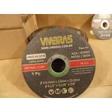 Disco De Corte Fino 4.1/2 Lixadeira Esmerilhadeira Aço/inox