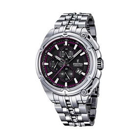 Hombres F Festina 2015 Chrono Bike Tour De France Reloj De