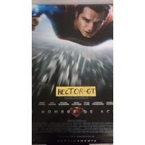 Poster Oficial - Superman - El Hombre De Acero .69 X 99.