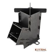Cocina Rocket Kutral Desarmable + Plancheta De Una Hornalla