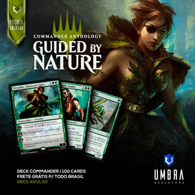 Deck Guided By Nature Do Commander Anthology + Deck Box