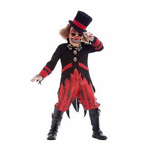 Disfraz Niño Payaso Malvado Terror Halloween Dia Brujas Mod3