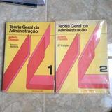 2 Livros Teoria Geral Da Administração Idalberto Chiavenato