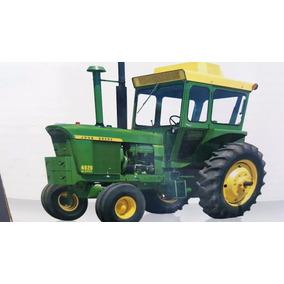 Tractor John Deere A Escala, Modelo 4620 Replica 1/16